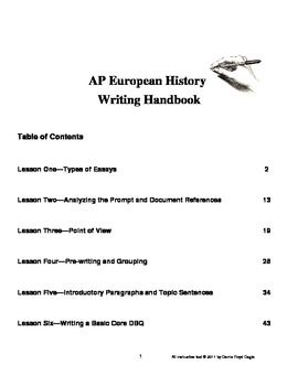 ap us history essay grading scale
