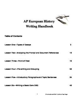ap us history essay grading scale