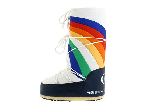 100 - Tecnica Moon Boot Rainbow Blue