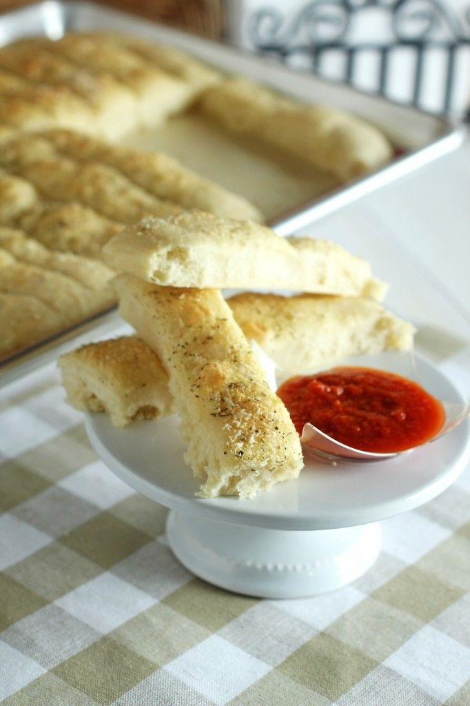 Easy Bread Sticks - Carmel Moments Serve with soup, pizza or pasta for ...