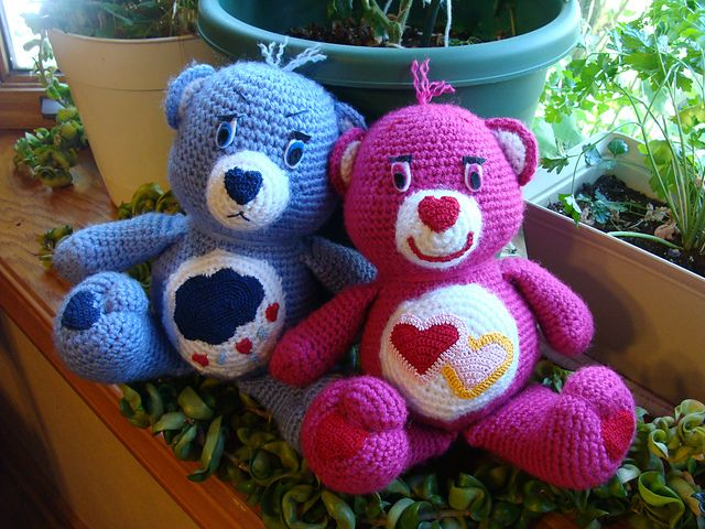 Amigurumi Care Bears Pattern : Pin by Brandy Gravitt on Crochet Pinterest