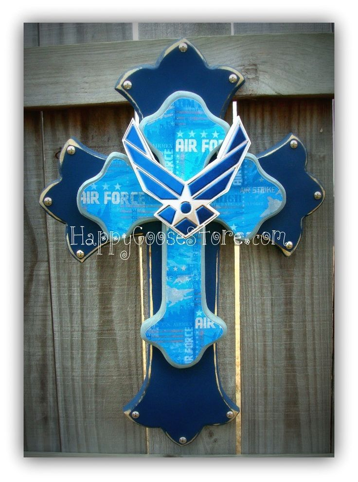 Usaf Wall Decor : Medium air force wall cross decor ideas