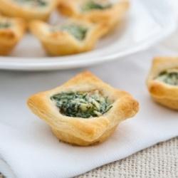 Mushroom and Spinach Tartlets   Yum Fun   Pinterest