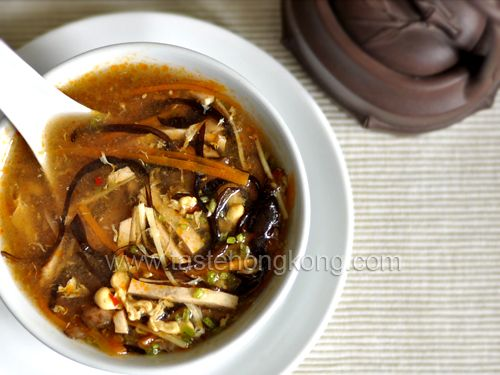 Chinese Hot and Sour Soup – Vegetarian Style