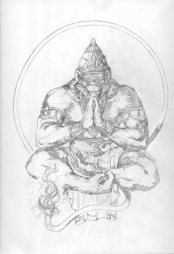 Эскиз воинЙога и татуировки 128
