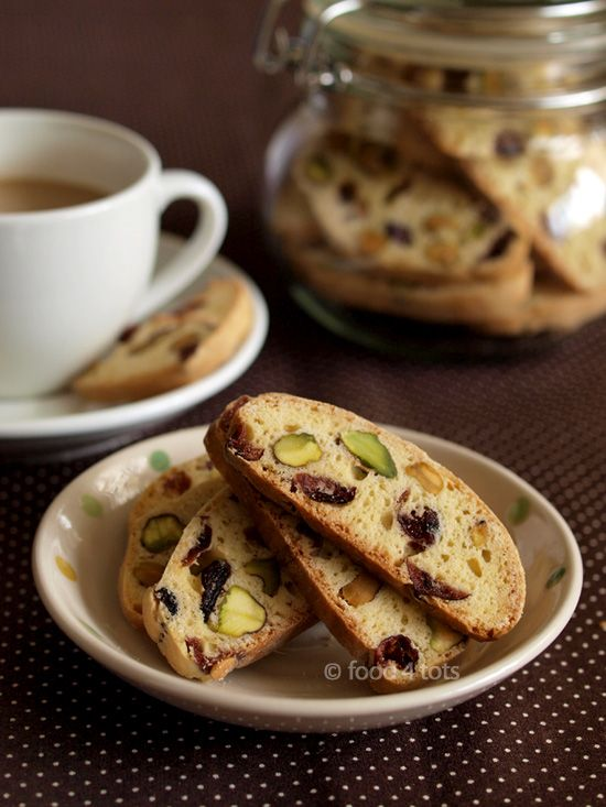 Cranberry and Pistachio Biscotti | Pizza Night | Pinterest