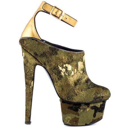 Wynne - Camo by London Trash @ heels.com $169.99