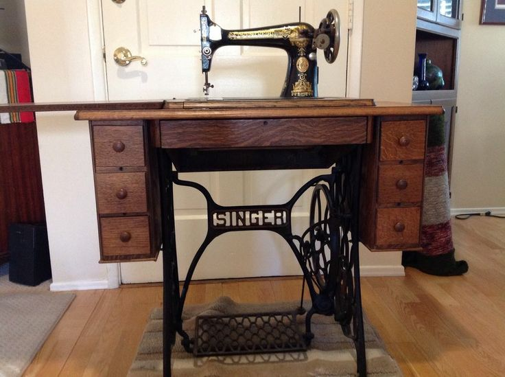 singer treadle sewing machine cabinet parts