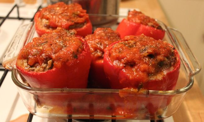 IMG 5885 Italian Style Stuffed Peppers | Recipes | Pinterest