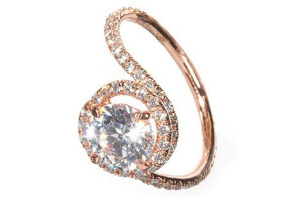 Tacori Engagement Rings Rose Gold Wedding Bells