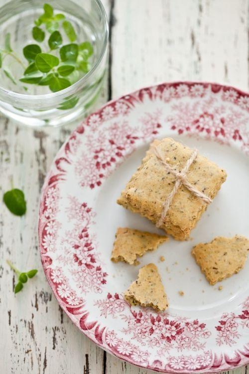 Herbed Crackers | Herbs | Pinterest