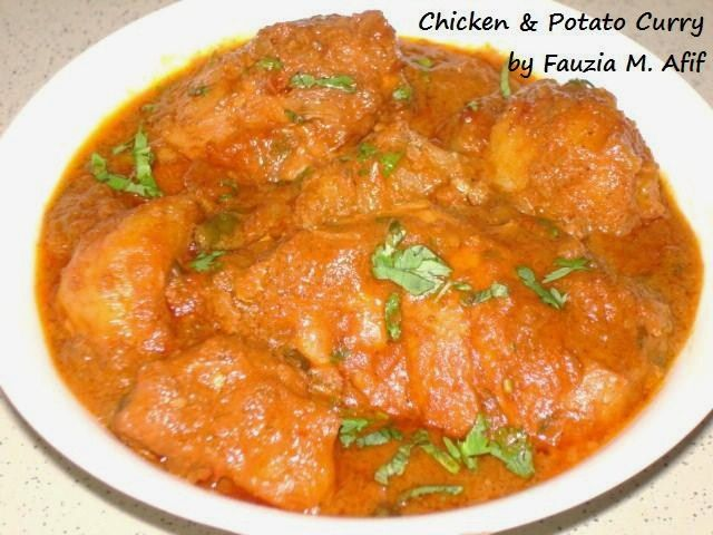 chicken amp potato curry extremely yummy overcooked chicken though ...