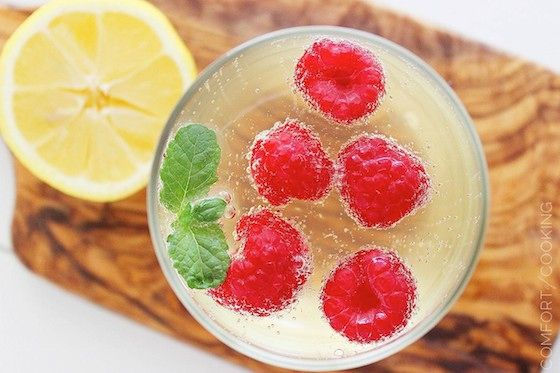 Limoncello Raspberry Prosecco Cooler | GLUTTONY: Cocktail hour | Pint ...