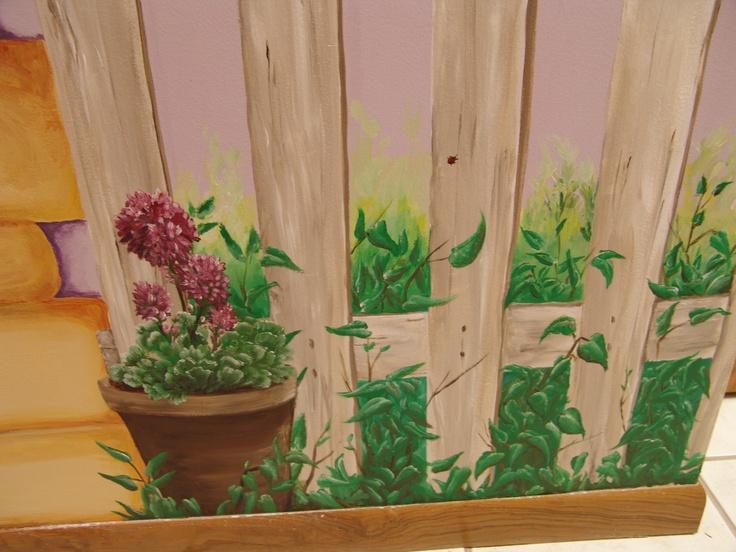 Garden Mural Church Nursery Ideas Pinterest