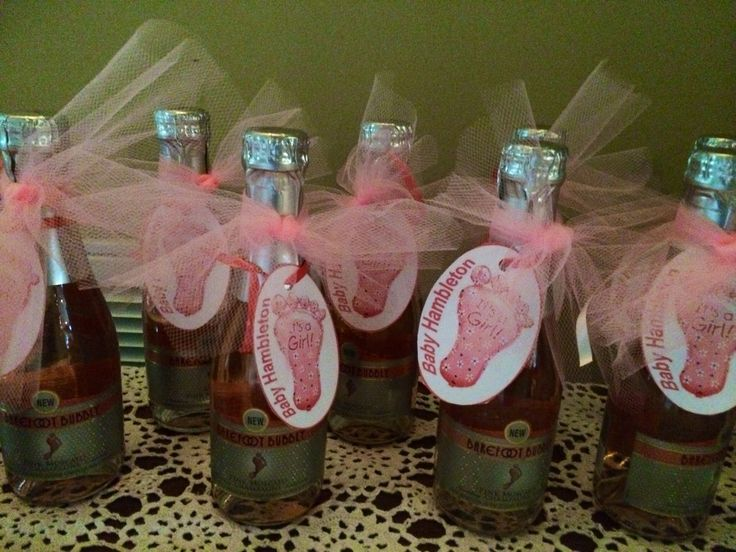 Champagne Party Favors For Baby Shower Baby Shower