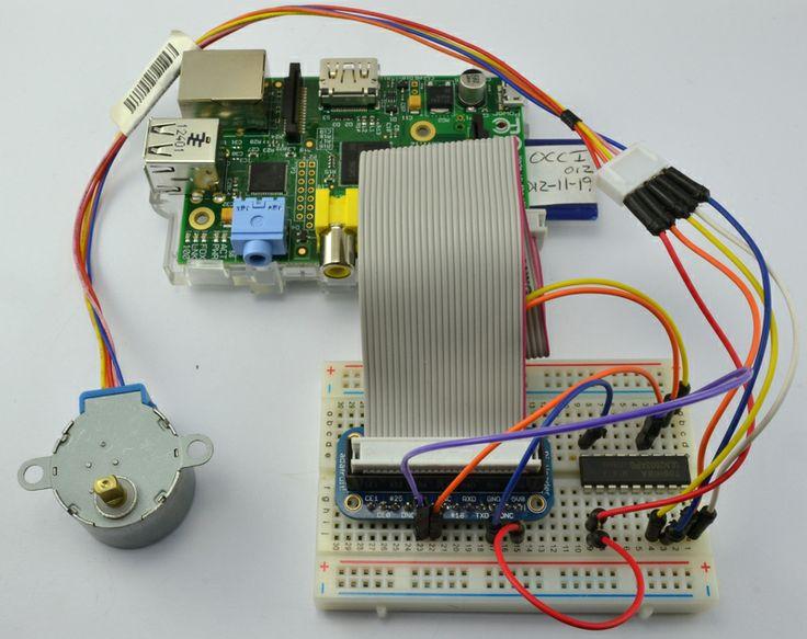 Stepper Motor Tutorial Raspberry Pi Pinterest