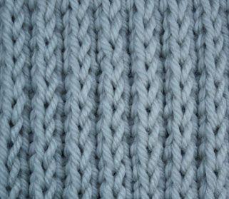 Stockinette Knitting Stitches Instructions : Raised Stockinette. Knit stitch patterns Pinterest