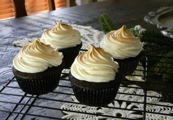Chocolate, Peanut Butter Cookie Dough, Toasted Marshmallow Cupcakes ...