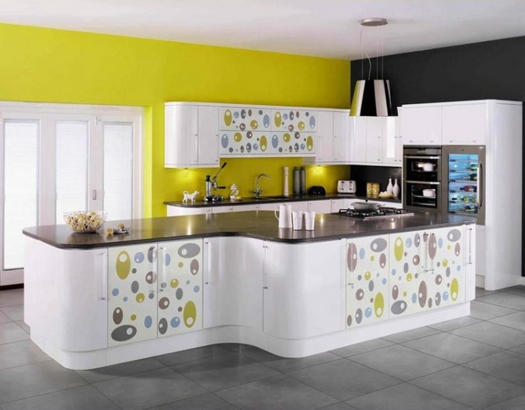 funky kitchen colors idea modern kitchens central t o