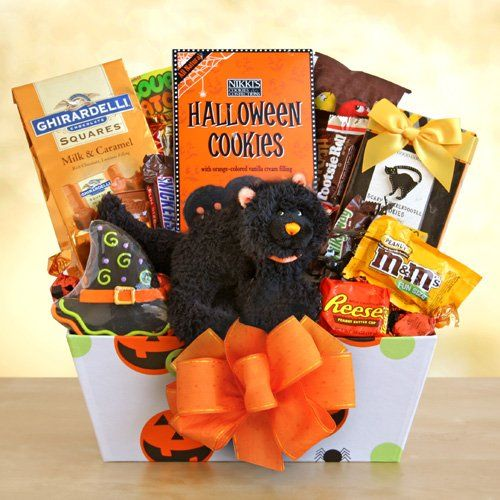 Scaredy Cat Treats for Halloween Gift Basket « Delay Gifts