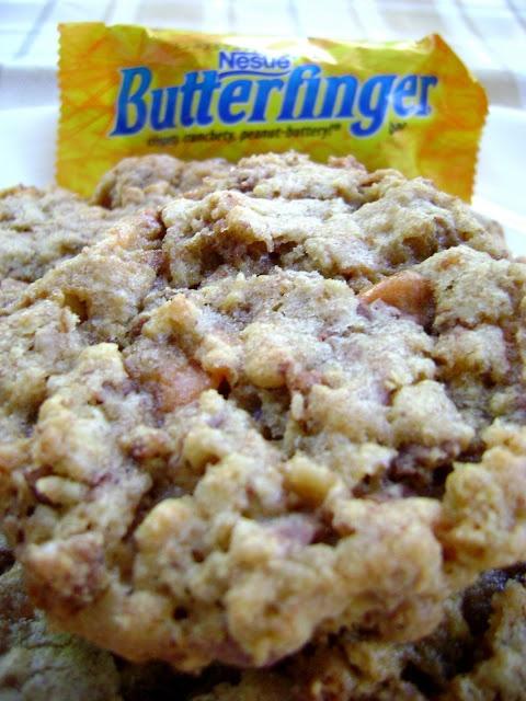 Crispy Butterfinger Cookies | Desserts | Pinterest