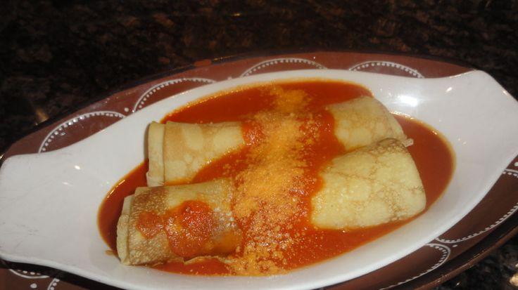 Nonna's Crepe Manicotti | Crepes | Pinterest