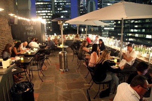 Best New Rooftop Bars & Outdoor Terraces in New York City