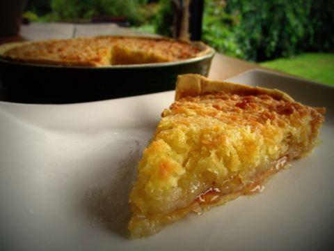 Coconut Macaroon Tart | DEE-LISH DEE-ZERTS | Pinterest