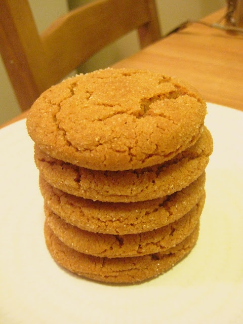 Molasses Spice Cookie- Good flavor. I added 3 tablespoons of chopped ...