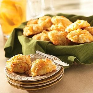 Cheese Drop Biscuits | Recipe