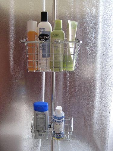 DIY Shower Caddy For Clawfoot Tub For The Home Pinterest