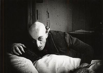Nosferatu...Max Schreck was possibly one of the most mysterious and frightening actors to exist.
