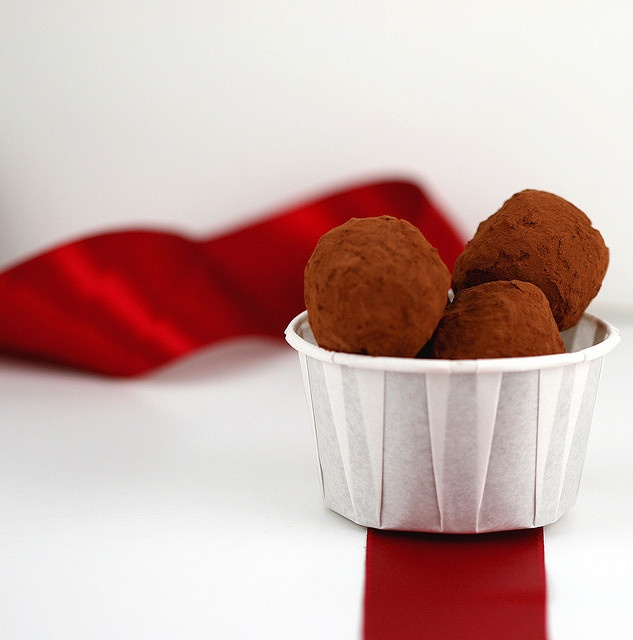 Spicy Chocolate Chili Truffles | desserts | Pinterest