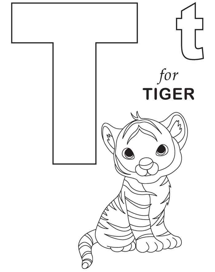 baby alphabet coloring pages - photo#44