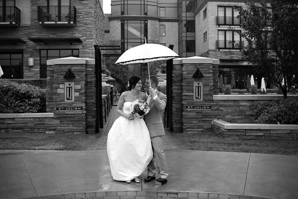 Wedding celebration at the st julien in downtown boulder