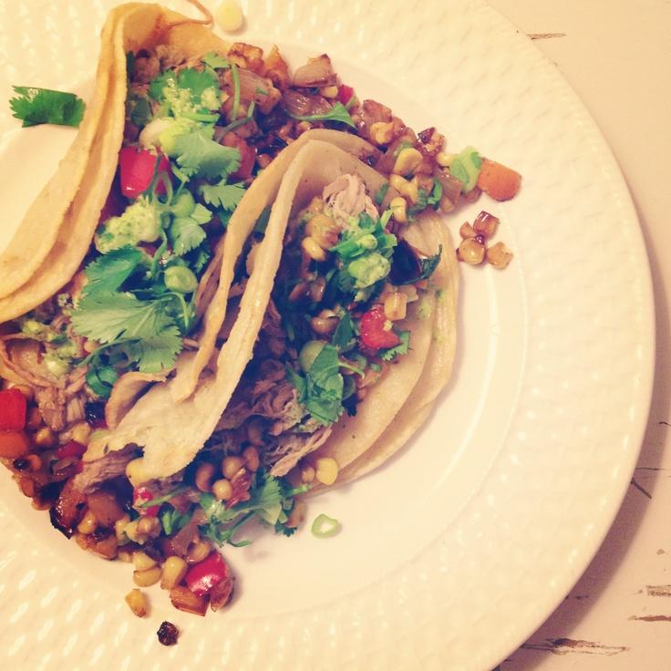 Shredded pork tacos | Food dessert | Pinterest