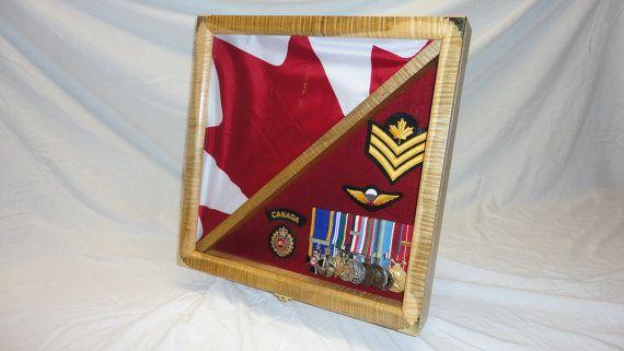 flag display box