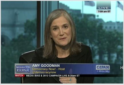 The silenced majority amy on c span washington journal amy goodman