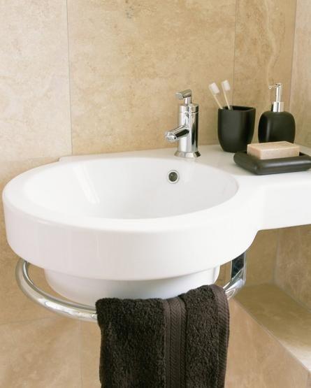 Bachas Para Baño Pequeno:Baños Pequeños? Aprovecha Tu Espacio