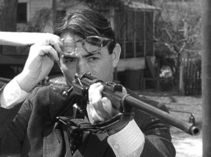 Atticus finch with gun