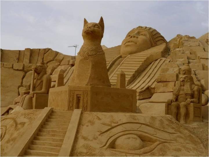 Sand sculpture art pinterest
