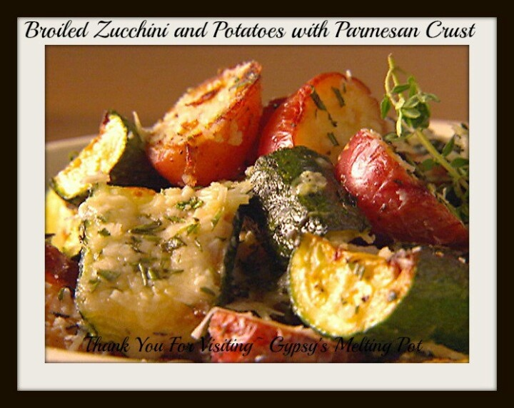 Broiled zucchini and potatoes | Recipes | Pinterest