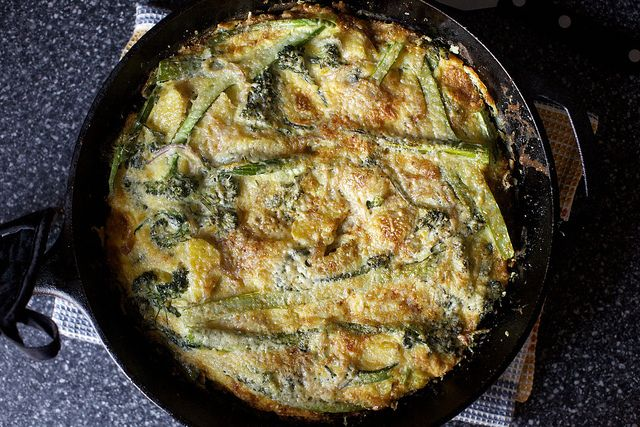 potato and broccolini frittata with parmesan by smitten, via Flickr ...