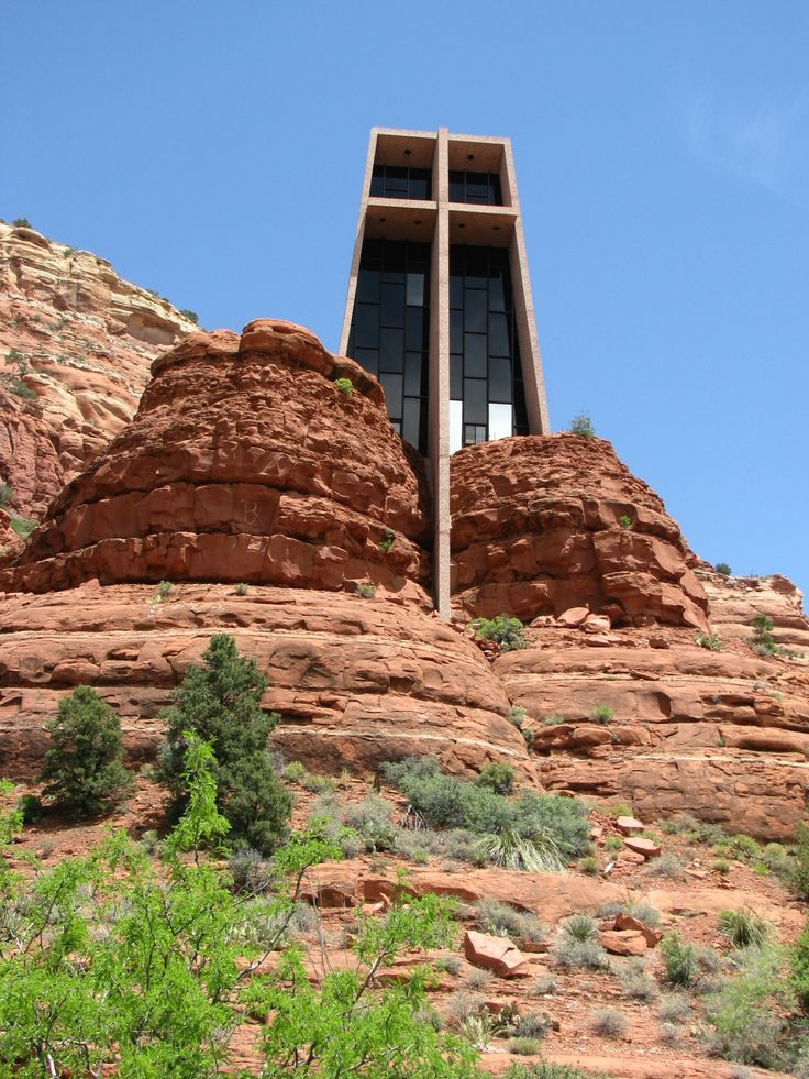 Chapel Of The Holy Cross Sedona Az Southwest Pinterest