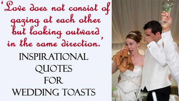 Wedding toast inspirational quotes weddingquotes weddingtoasts