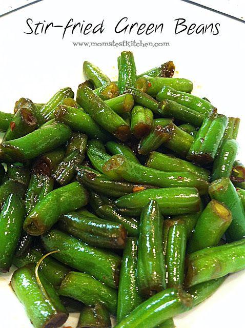 Stir-Fried Green Beans - Mom's Test Kitchen