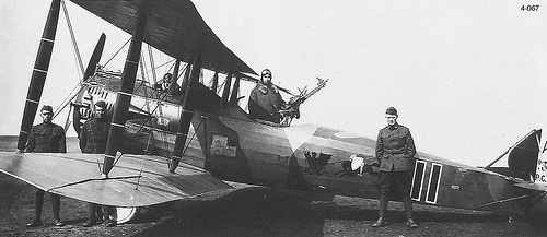 Lt. Lowry And His Plane by thegreatlandoni, via Flickr