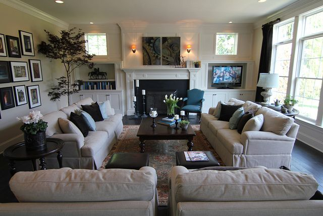 Comfy Cozy Family Room House Home Pinterest