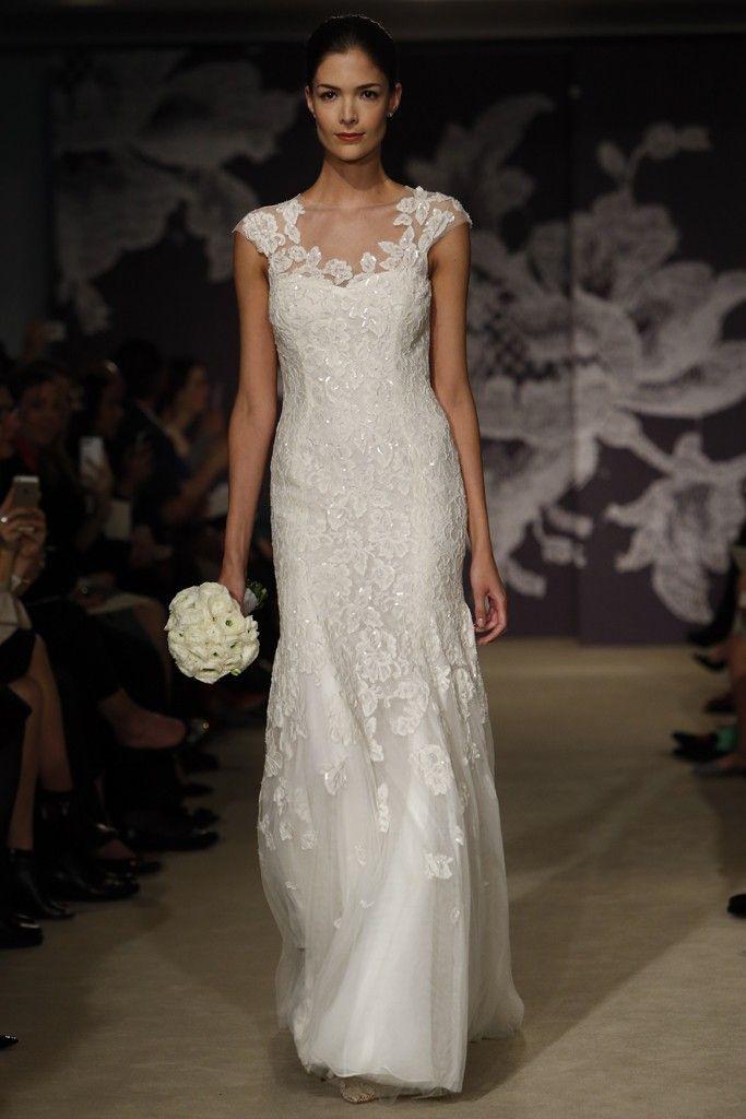 fashion shows bridal spring carolina herrera