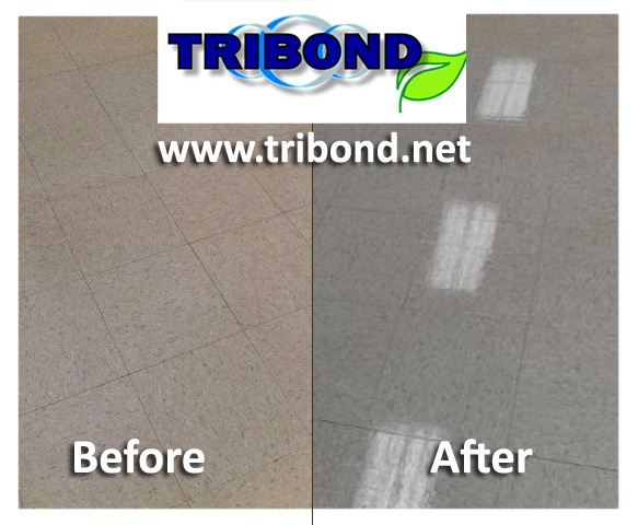 Before and After waxing, the TRIBOND way. Can